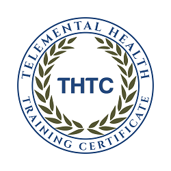 Telemental Health Training Certificate badge